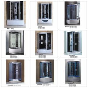 Luxury High Quality Computer Controlled Steam Sauna Shower Cabinet Room pictures & photos