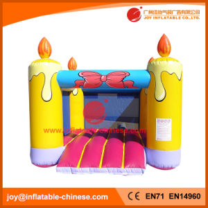 Inflatable Candle Jumping Birthday Party Bouncer for Amusement Park (T1-241) pictures & photos