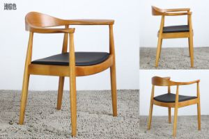 Leisure Ash Solid Wood Restaurant Chair pictures & photos