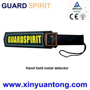9V Rechargeable Battery Hand Metal Scanner for Security Inspection pictures & photos