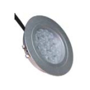Recessed/ Embeded Round Aluminum Cabinet Light Silver LED Indoor pictures & photos