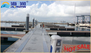 Factory Manufactured Floating Dock with Aluminum Alloy Pontoon pictures & photos