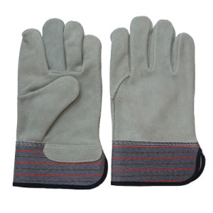 Full Palm Cut Resistant Safety Work Gloves pictures & photos