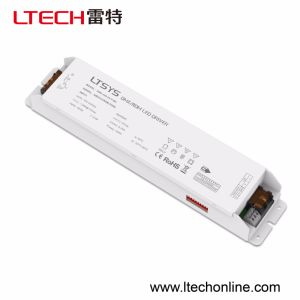 DMX-150-24-F4m1 150W 4CH DMX512/Rdm Dimmable Driver Control Dimming/CT/RGB/RGBW Lamps Input100-240V Output 24V DMX512 Controller pictures & photos