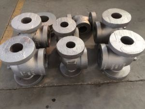 Globe Valve Body Parts Body Bonnet Casting Carbon Steel Casting pictures & photos