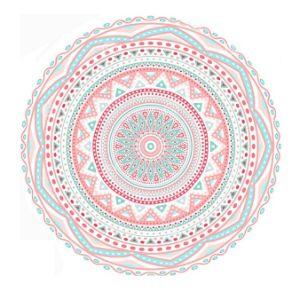100% Cotton Velour Printed Mandala Cheap Beach Towel pictures & photos