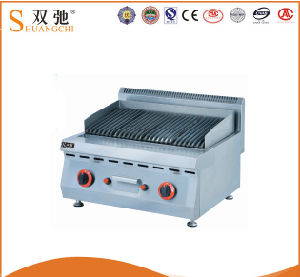 Commercial Lava Rock Grill Pannini Grill for Wholesale pictures & photos