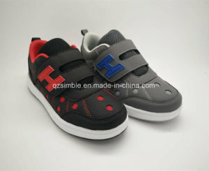 2017 Kid Casual Shoes with Mesh & PU Upper for Unisex pictures & photos