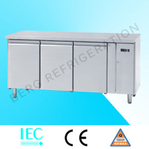 High Quality Stainless Steel Worktable Refrigerator with Ce pictures & photos