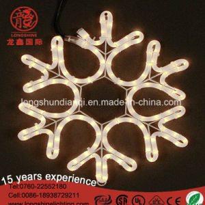 "36"" LED Folding Twinkle Snowflake Christmas Decoration Light, Warm White Lights pictures & photos"
