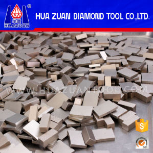 China Manufacturer Granite Fan Shape Blade Fast Diamond Segment pictures & photos