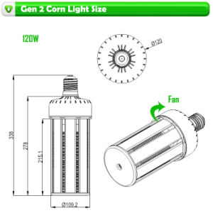 120W LED Corn Bulb E39 Ce RoHS Certificated pictures & photos