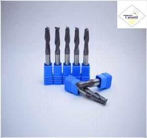 Cutoutil HRC45 Tialn Coating D18*45*100 2f/4f for Steel CNC Machining Part  Square Carbide End Mills Tools pictures & photos