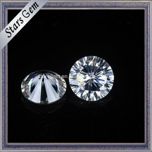 6.50mm One Carat Very Shine Moissanite Loose Gemstone pictures & photos