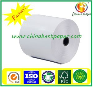 Wholesale thermal paper rolls 80X80 thermal paper POS roll shrink wrapping China pictures & photos