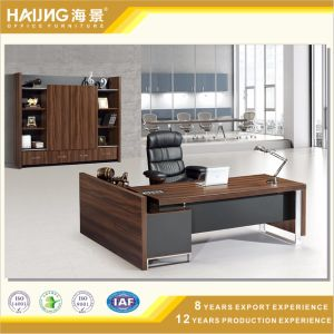 Modern Black Walnut Malamine Boss Office Furniture pictures & photos
