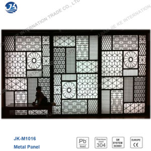 Japanese Artistic Decorative Stainless Steel Elegant Partition Wall
