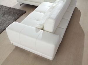 Genuine Leather Corner Sofa for Modern Sofa Leather Sectional L Shaped pictures & photos