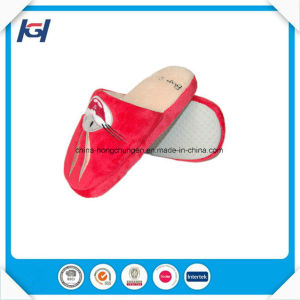 Wholesale Custom Logo Soft Bedroom Slippers for Women pictures & photos