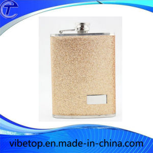 Stainless Steel Wine Flagon Bottle (WB-07) pictures & photos