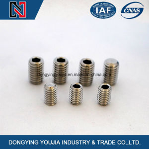 Hexagon Socket Set Screws with Flat Point pictures & photos