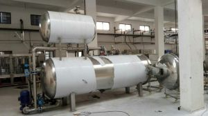 Automatic Steam Spray Food Sterilizer Machine pictures & photos