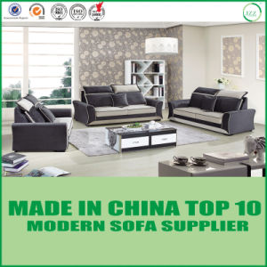 Russia Style Modern Living Room Leather Sofa Set pictures & photos