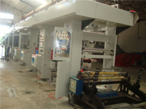 Automatic PVC Shrink Label Gravure Printing Machine pictures & photos