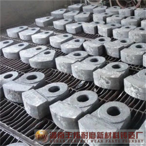 High Chrome Casting Iron Crusher Wear Part Hammer