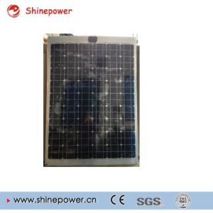 Competitive Price 120watt 18V Semi Flexible Solar Panel with Aluminum Back Sheet pictures & photos
