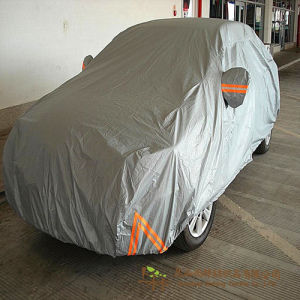 2017 Hot Sale Waterproof Silver Coated Nylon Fabric for Car Cover pictures & photos