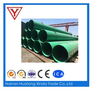 3PE Coated Anticorrosion Underground Sewerage Spiral Steel Pipe pictures & photos