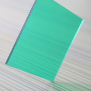 High Quality Bayer UV-Protection Plastic Polycarbonate Solid Flat Sheet pictures & photos