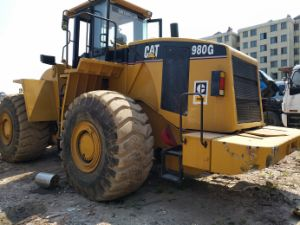 Used Cat 980g Wheel Loader /Caterpillar 980f 980c 988h Wheeled Loader pictures & photos