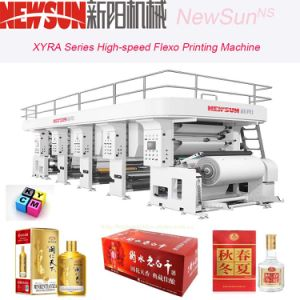 Xyra-1000 High-Speed Cigarette Package Flexo Line Printing Machine pictures & photos