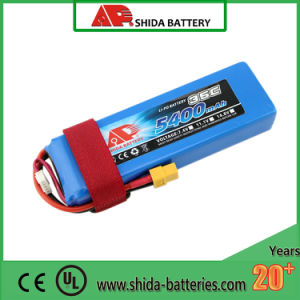 5400mAh 11.1V Lithium Polymer Battery for Quadcopter Multicopter pictures & photos