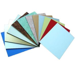 Aluminum Composite Panel with Different Colors and Width pictures & photos