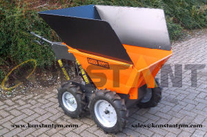 Chain Drive Dumper Power Barrow with Extension Sides pictures & photos