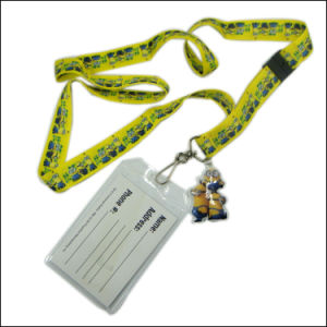 Plastic Name/ID Card Badge Reel Holder Custom Lanyard Neck Strap for Lanyard (NLC023) pictures & photos