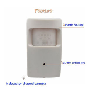 Effio-P 700tvl Color CCD Hidden Infrared Detector Camera pictures & photos