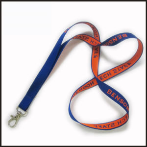 Fashion Woven/Jacquard/Braided Logo Custom Lanyard for College pictures & photos