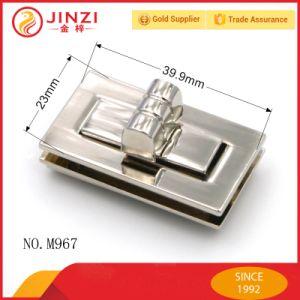 Classical Zinc Alloy Rectangle Shape Handbags Twist Lock pictures & photos