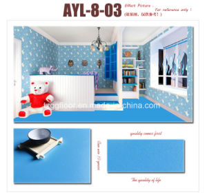 High Quality Decorative Gloss Surface PVC Laminate Flooring pictures & photos