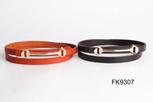 Auto Buckle Belts, Ladies PU Belt, Fashion Accessories Waist Belts pictures & photos