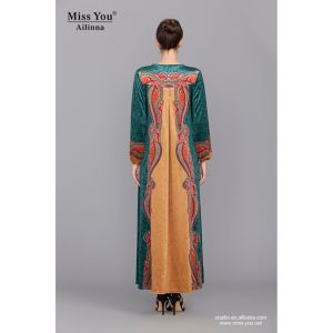 Miss You Ailinna 801972 Ladies Colorful Muslim Wedding Dress pictures & photos