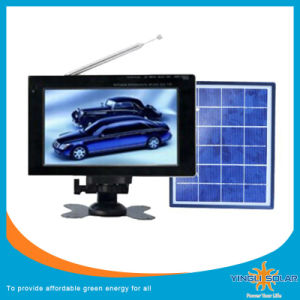 7 Inches Mini Solar Energy TV with 4000mAh Built-in Battery pictures & photos