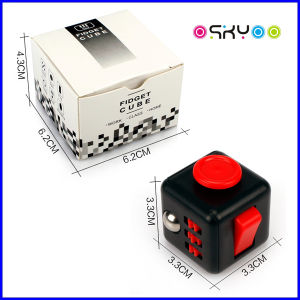 Factory Price Release Stress Dice Magic Fidget Cube Desk Toy pictures & photos