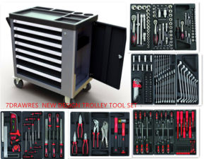 6 Drawers New Type Trolley Swiss Kraft Tool Set (FY228A4) pictures & photos