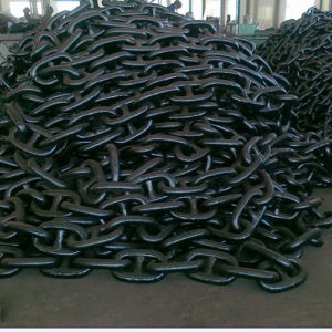 Zinc Plated Chain Offshore Chain Open Mooring Chain pictures & photos