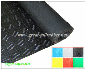 Gw3005 Great Wall Rubber, Checker Rubber Mat with Best Price pictures & photos